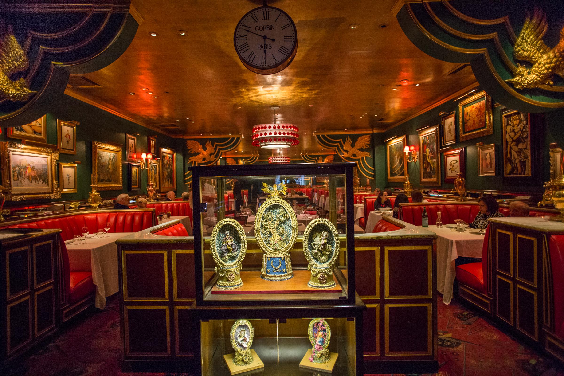 Reunion Golden Lions Dinner Russian Tea Room
