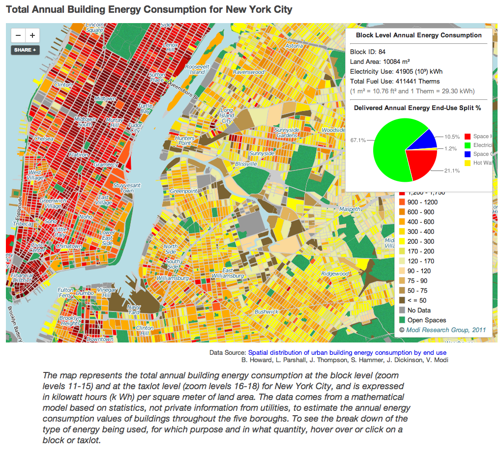 Model Created to Map Energy Use in NYC Buildings The Fu Foundation