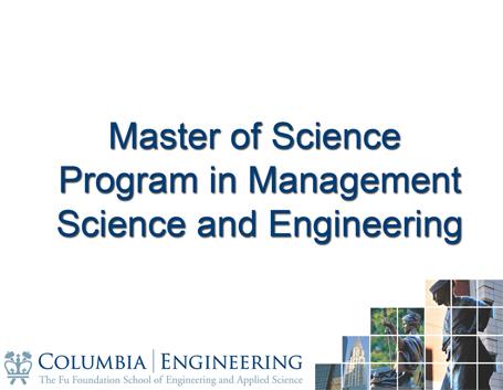 Engineering Management the university of sydney foundation program