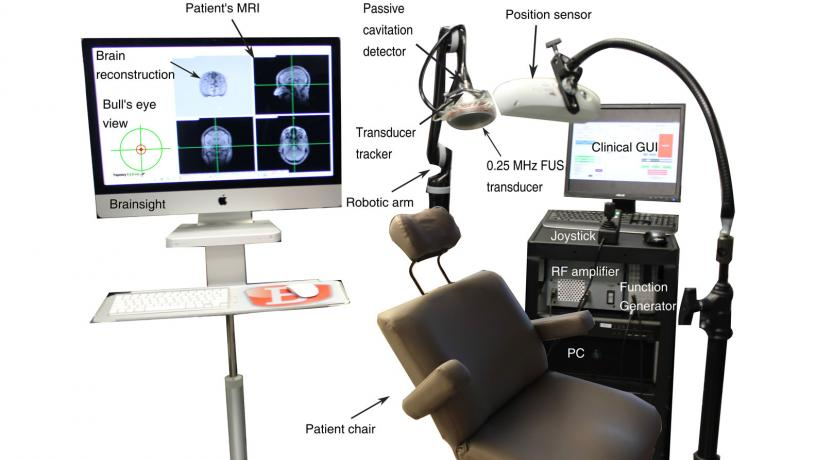 New Ultrasound Technique is First to Restore Dopaminergic Pathway in